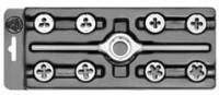 Набор резьбонарезной в пластиковой коробке MINI-1 Bucovice 330129
