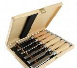 Набор из 6 стамесок в деревянной коробке WOOD LINE PROFI Narex 853055