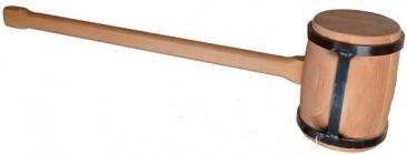 Тяжелый молот с оправкой из стальной ленты 4 кг PINIE 54-2